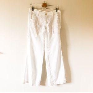 Pilcro and letterpress white wide leg pant 295